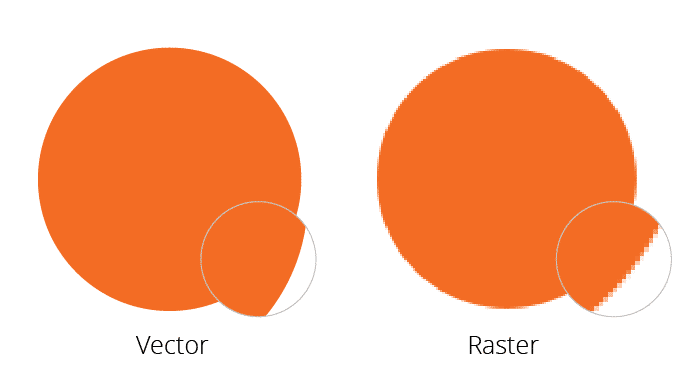 Vector vs Raster - rockford seo
