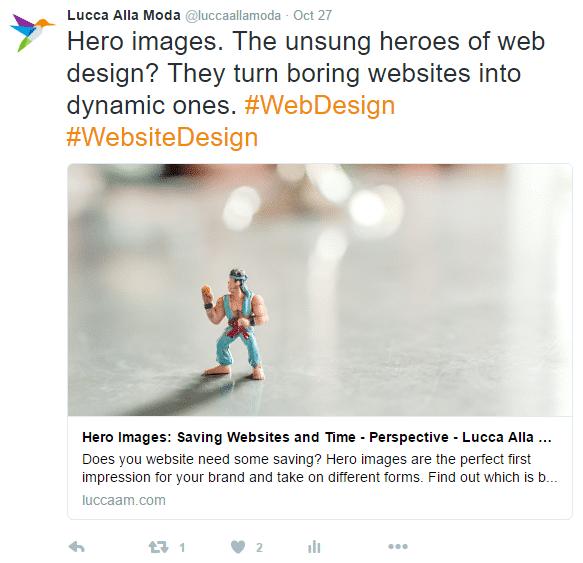 3 social media tools - hero images - web design
