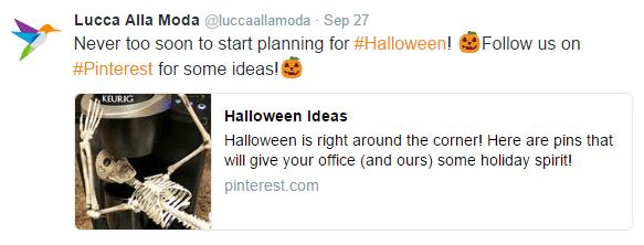 3 social media tools - twitter card - halloween