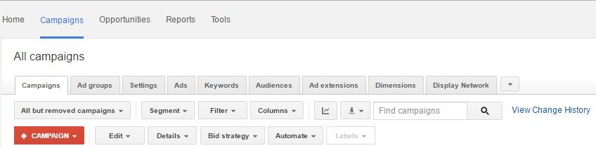 google adwords tabs - best graphic designers chicago
