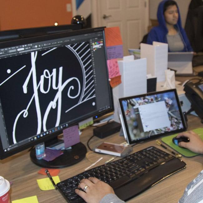 joy - illustration to digital
