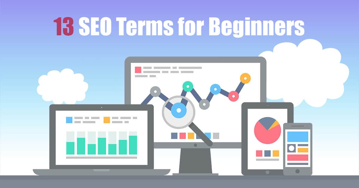 13 SEO Terms for Beginners