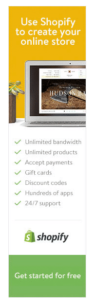 design ads for eCommerce