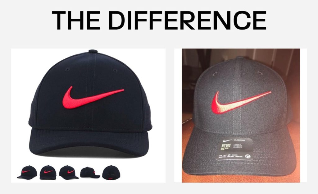 nike hat - good product picture