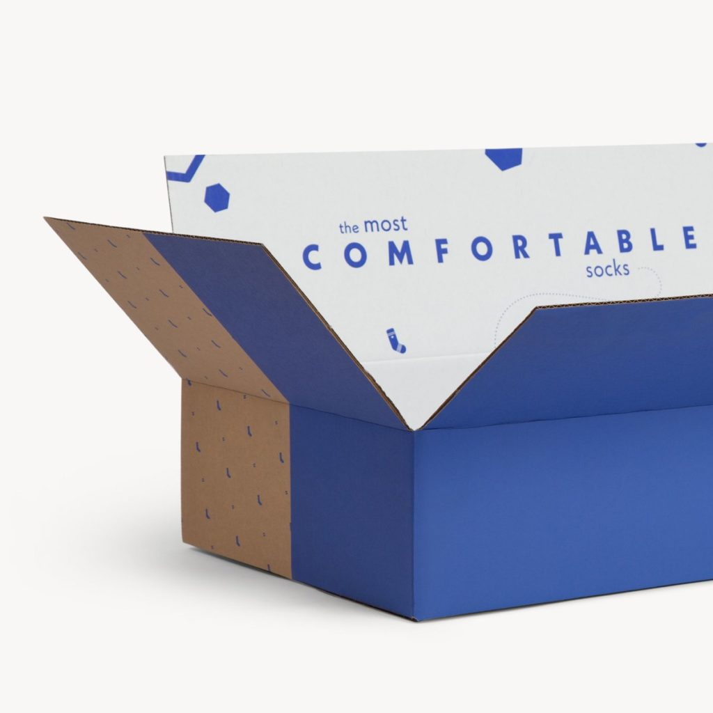 product packaging - bombas box