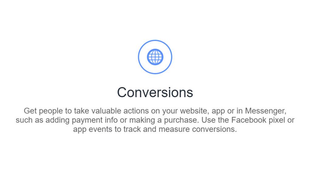 facebook conversion ads